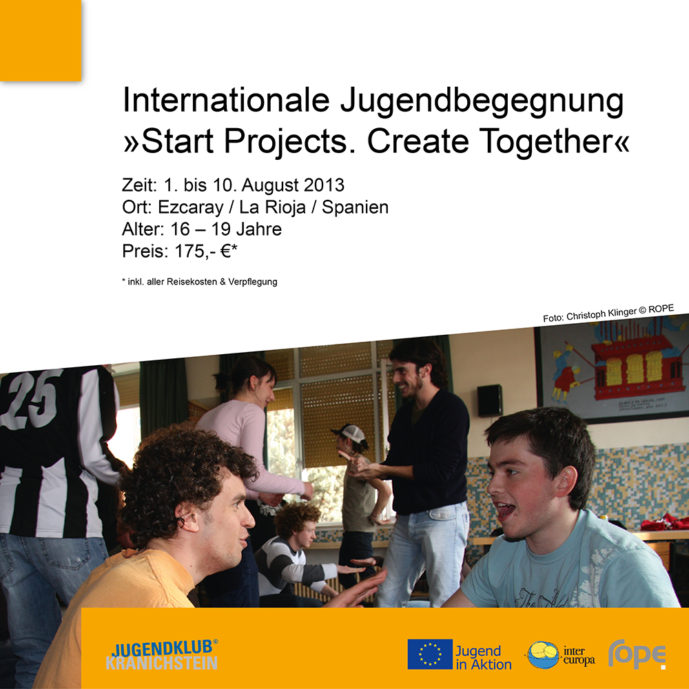 "/rope2016/Internationale%20Jugendbegegnung%20""Start%20Projects.%20Create%20Together"""