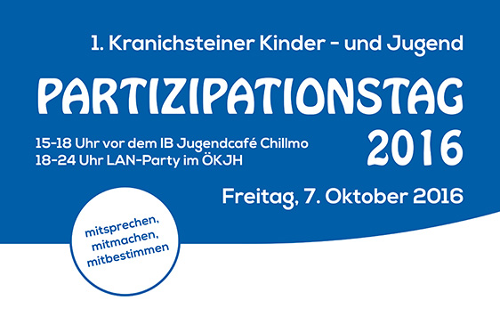 Kranich­steiner Partizipations­tag am 07.10.2016