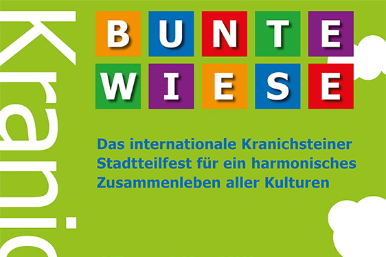 "Save the Date! ""Bunte Wiese"" 2019 am 15. Juni"